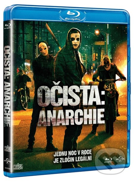 Očista: Anarchie BLU-RAY