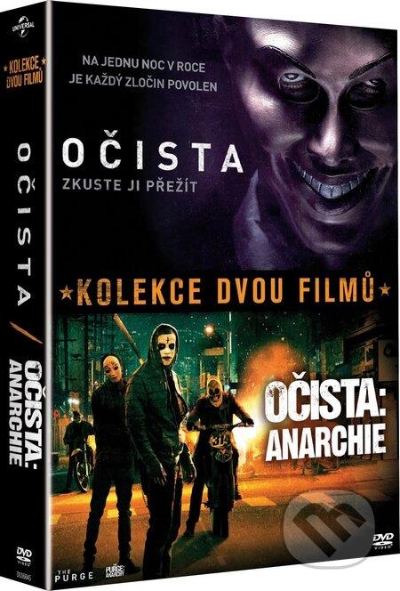 Kolekce Očista 1+2 DVD