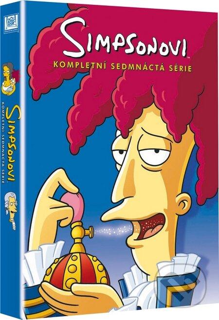 Simpsonovi 17. sezóna DVD