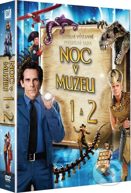 Noc v muzeu 1+2 DVD