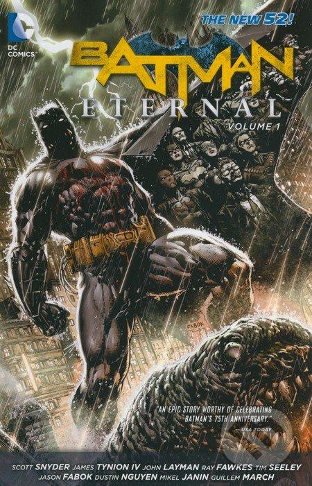 Batman Eternal (Volume 1) - Scott Snyder a kolektív