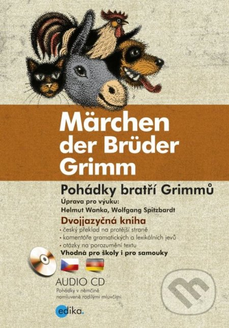 Pohádky bratří Grimmů / Märchen der Brüder Grimm - Jacob Grimm, Wilhelm Grimm