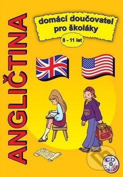 Angličtina domácí doučovatel pro školáky + CD - Štěpánka Pařízková