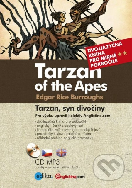 Tarzan of the Apes / Tarzan, syn divočiny - Edgar Rice Burroughs