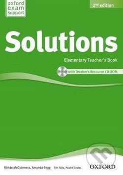 Maturita Solutions - Elementary - Teacher\'s Book + CD -