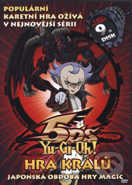 Yu-Gi-Oh 5D´s 9. DVD