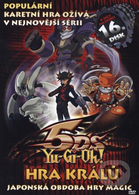Yu-Gi-Oh 5D´s 16. DVD