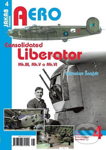 Consolidated B-24 Liberator - Miroslav Šnajdr