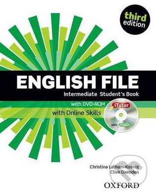New English File - Intermediate: Student\'s Book with DVD-ROM and Online Skills - Clive Oxenden, Christina Latham-Koenig