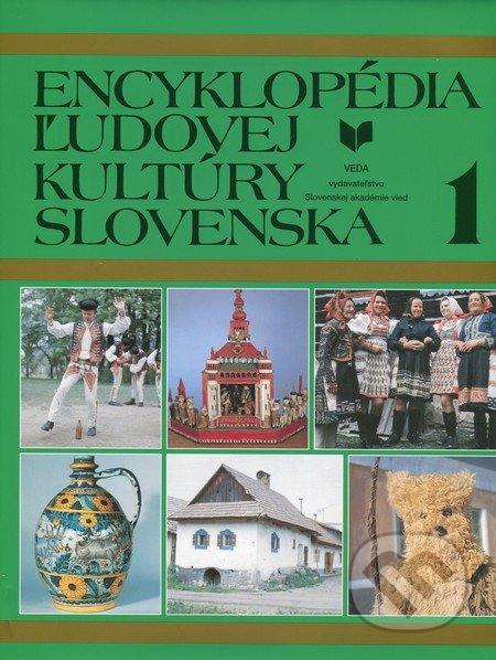 Encyklopédia ľudovej kultúry Slovenska 1 -