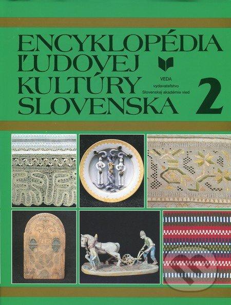 Encyklopédia ľudovej kultúry Slovenska 2 -