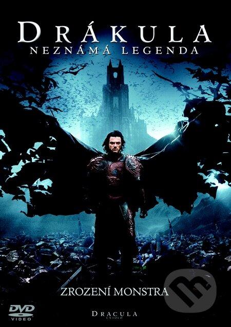 Drákula: Neznámá legenda DVD