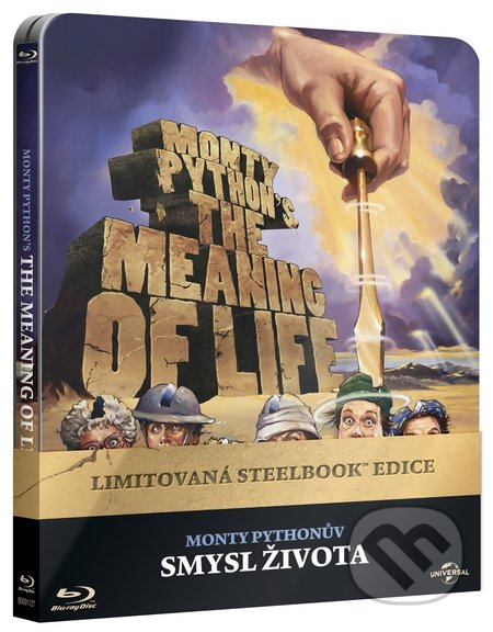 Monty Pythonův smysl života Steelbook STEELBOOK