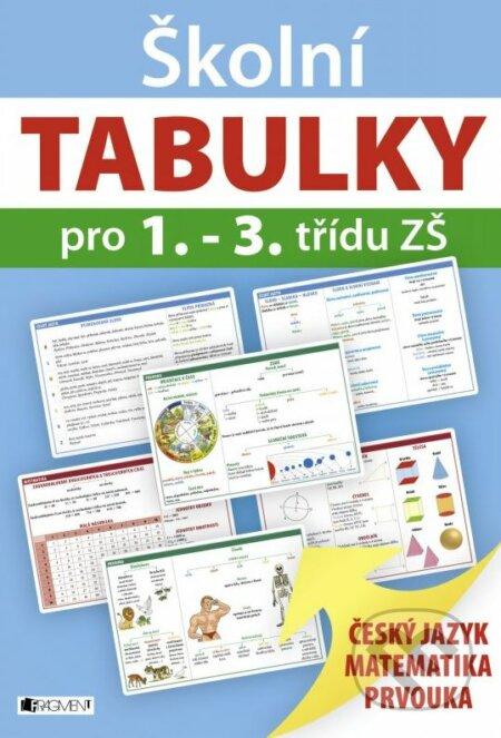 Školní tabulky pro 1.-3. třídu ZŠ -