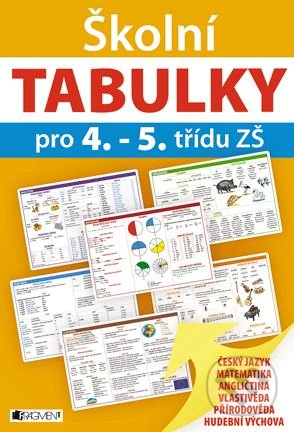 Školní tabulky pro 4.-5. třídu ZŠ -