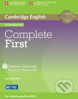 Complete First - Teacher\'s Book with Teacher\'s Resources - Guy Brook-Hart