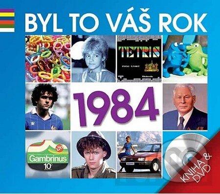 Byl to váš rok 1984 (DVD + kniha) DVD