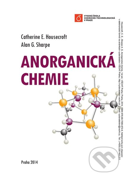Anorganická chemie - Catherine Housecroft, Alan G. Sharpe