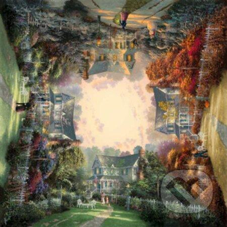 Viktoriánska záhrada - Thomas Kinkade