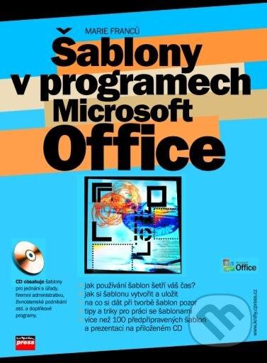 Šablony v programech Microsoft Office - Marie Franců