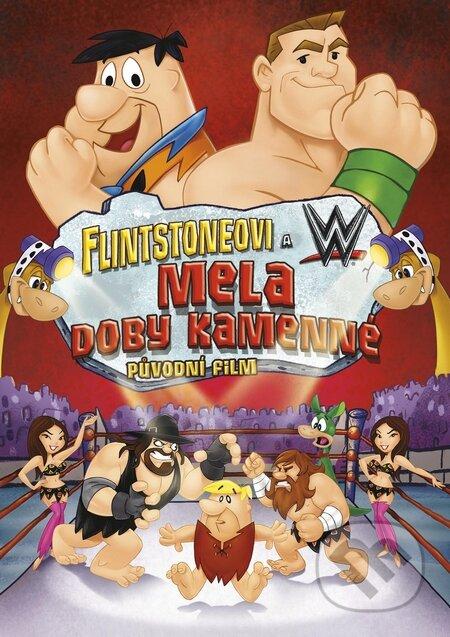 Flintstoneovi & WWE: Mela doby kamenné DVD
