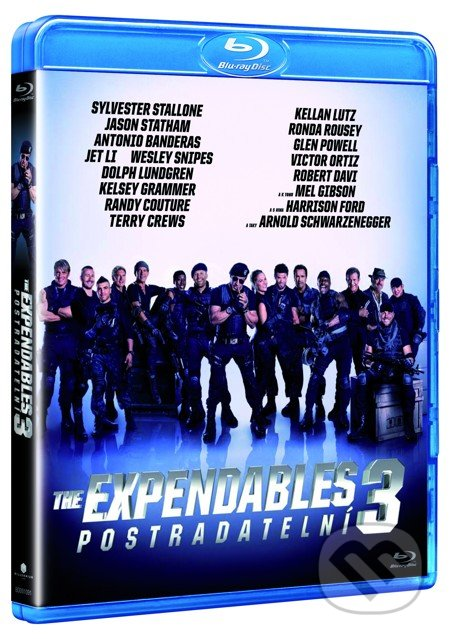 The Expendables: Postradatelní 3 BLU-RAY