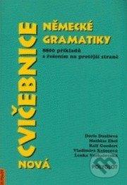 Nová cvičebnice německé gramatiky, 8800 příkladů s řešením na protější straně - Náhled učebnice