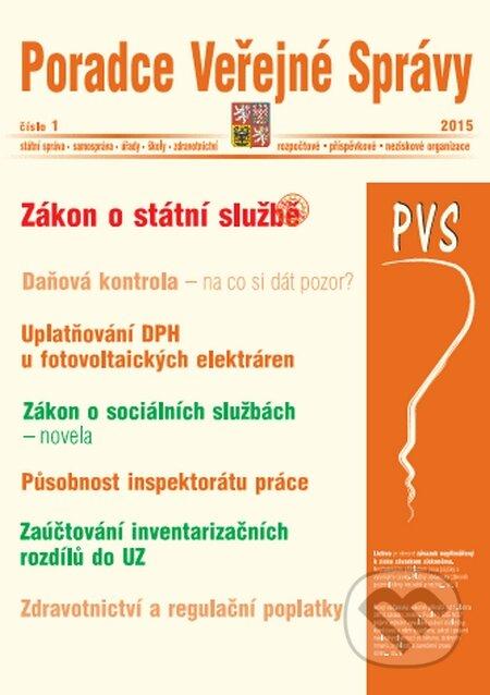 Poradce Veřejné Správy 1/2015 -