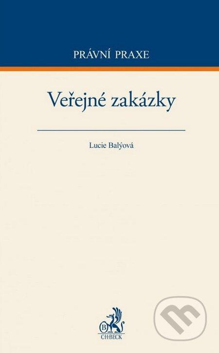 Veřejné zakázky - Lucie Balýová