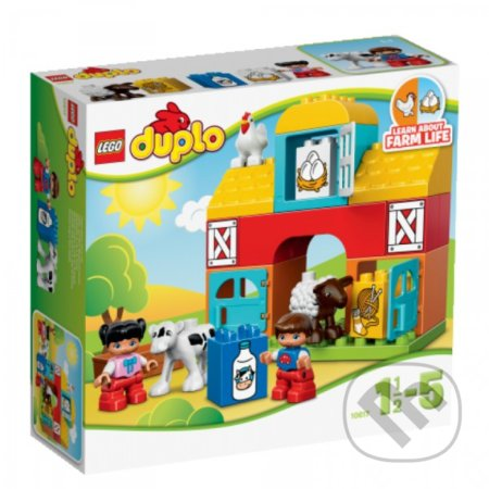 LEGO DUPLO 10617 Moja prvá farma -