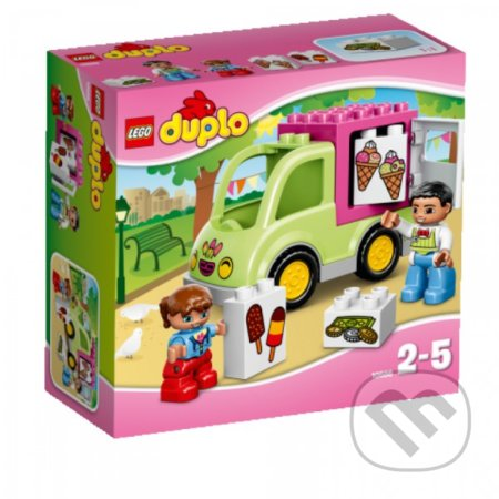 LEGO DUPLO 10586 Zmrzlinárske auto -