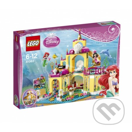 LEGO Disney Princezny 41063 Arielin podvodný palác -