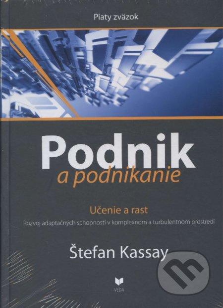 Podnik a podnikanie (Piaty zväzok) - Štefan Kassay