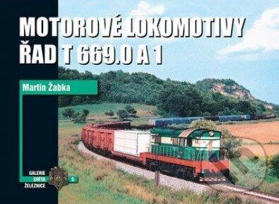 Motorové lokomotivy Řad T669.0 a 1 - Martin Žabka
