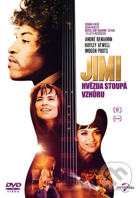 Jimi: Hvězda stoupá vzhůru DVD