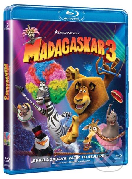 Madagaskar 3 BLU-RAY