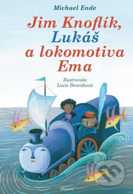 Jim Knoflík, Lukáš a lokomotiva Ema - Michael Ende, Lucie Dvořáková (ilustrácie)