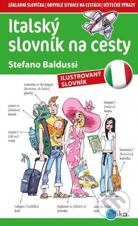 Italský slovník na cesty - Stefano Baldussi, Aleš Čuma (ilustrácie)