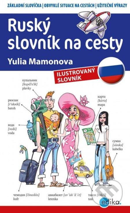 Edika Ruský slovník na cesty - Yulia Mamonova, Aleš Čuma (ilustrácie)
