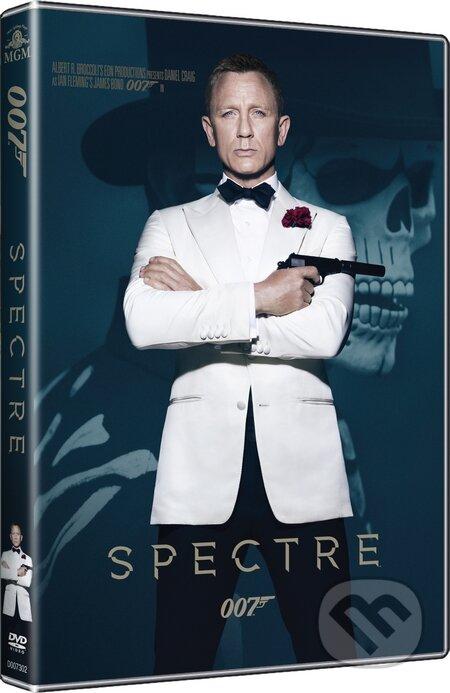 Spectre (obsahuje navíc bonusové DVD) DVD