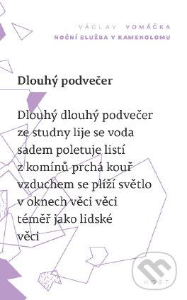 Noční služba v kamenolomu - Václav Vomáčka
