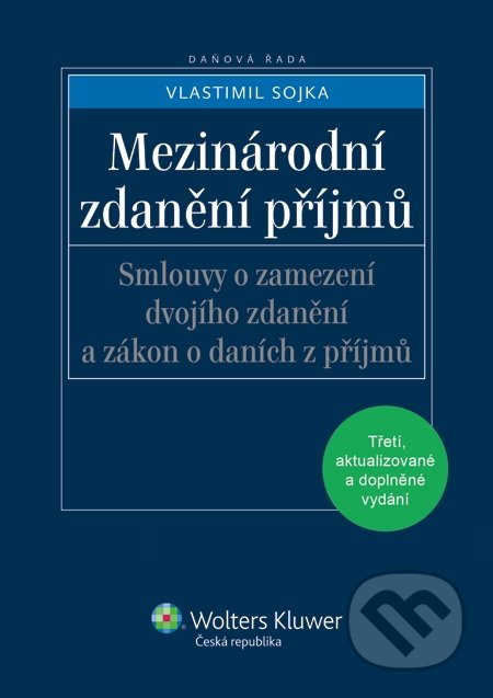 Mezinárodní zdanění příjmů - Vlastimil Sojka