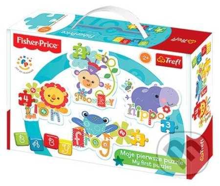 Fisher Price: Rainbow Forest Opice, hroch, lev, žába -