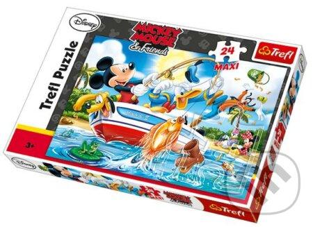 Mickey Na rybách -