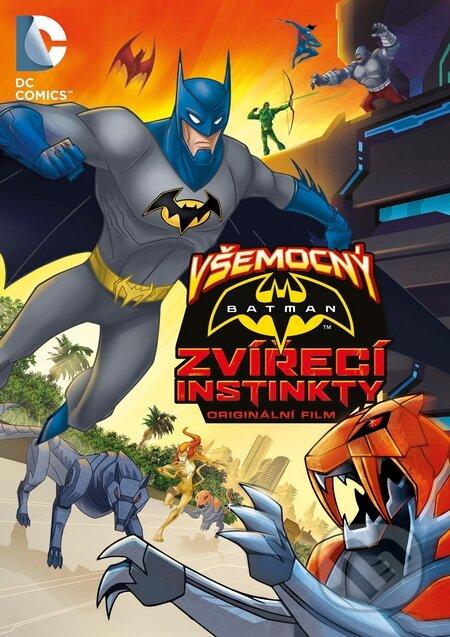 Všemocný Batman: Zvířecí instinkty DVD