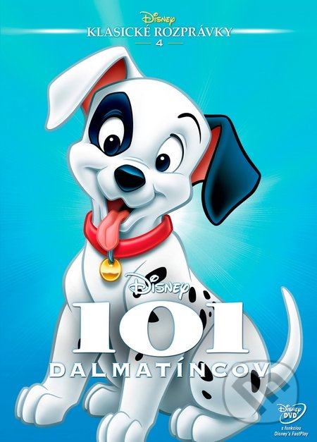 101 Dalmatíncov DVD