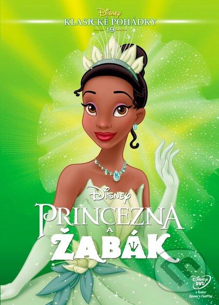 Princezná a žaba DVD
