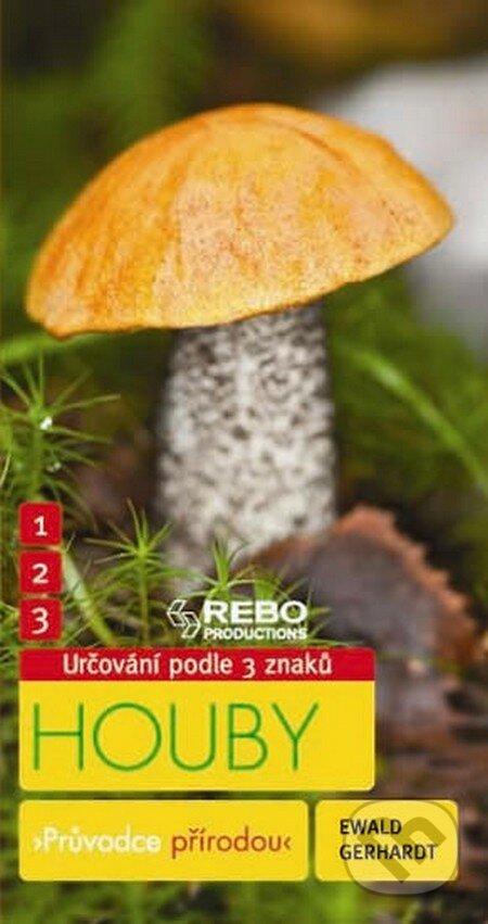 Houby - Průvodce přírodou - Ewald Gerhardt