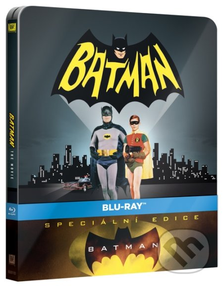 Batman 1966 Steelbook BLU-RAY