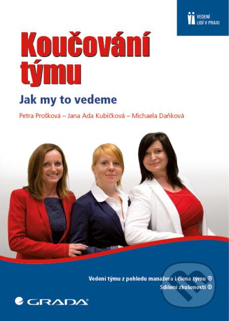 Koučování týmu - Petra Prošková, Jana Ada Kubíčková, Michaela Daňková
